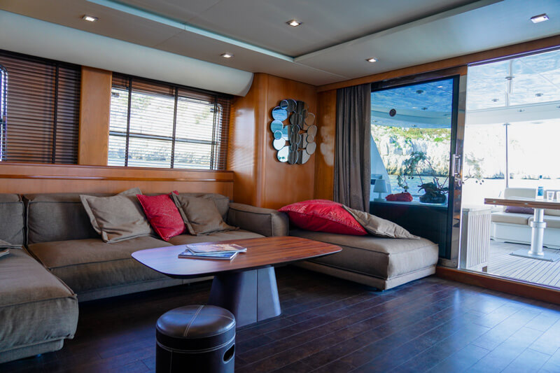 Location Yatch de luxe Dolce Vita